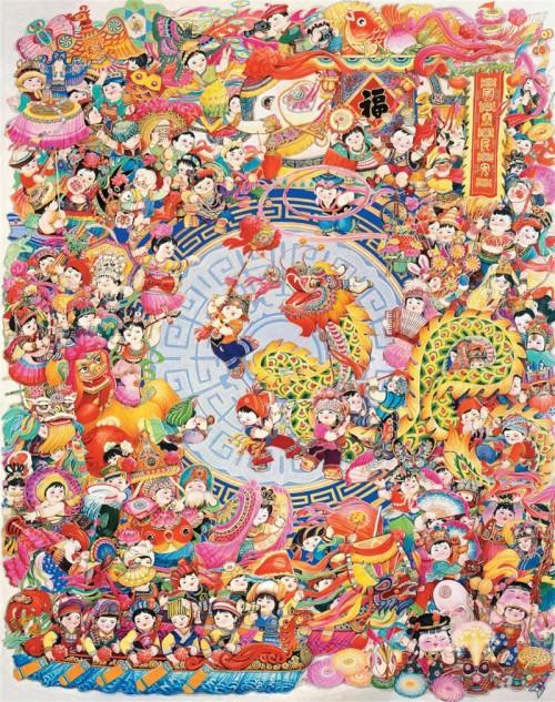 展讯丨与新中国同行·灵韵华彩·中国当代名家高志华美术作品展