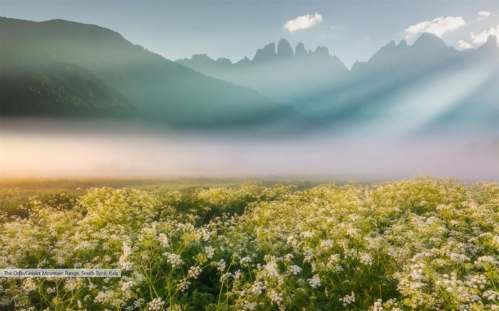 Win10主题包Mountain's Glow免费发布的照片 - 2