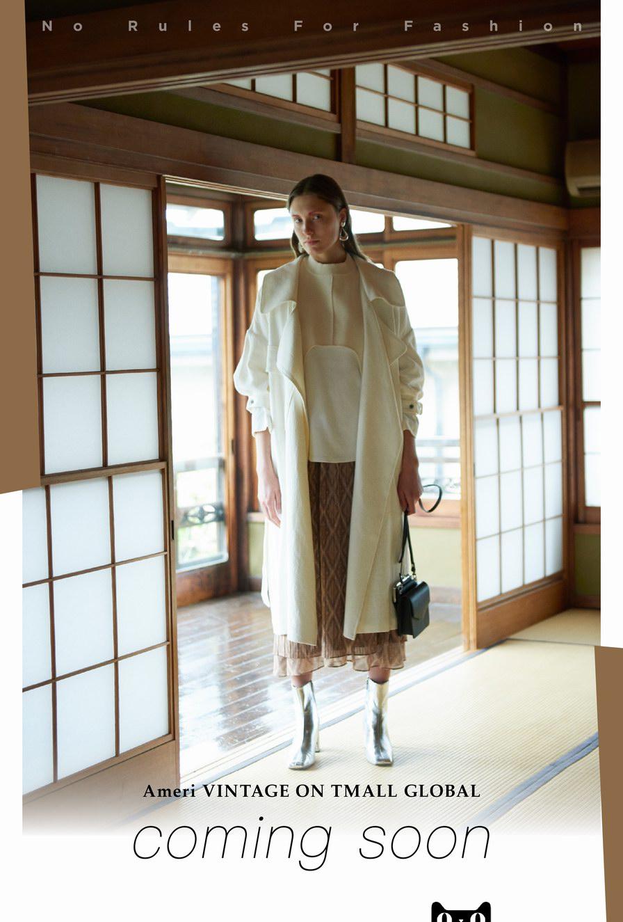 千呼万唤始出来,日本超人气品牌Ameri VINTAGE天猫旗舰店强势来袭