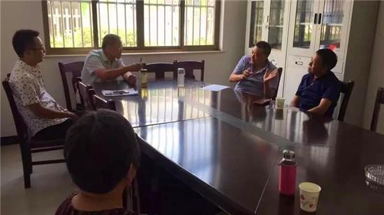 海安市白甸镇成功调处一起征地农民土地权属纠纷
