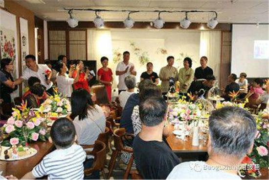 王羲之书法研究院又一大型文创基地---梵愚茶书院隆重开业