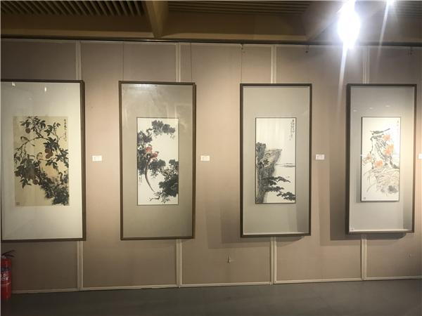 万恒艺术・发现--岑今国画精品展在北京炎黄艺术馆(炎黄苑)举行