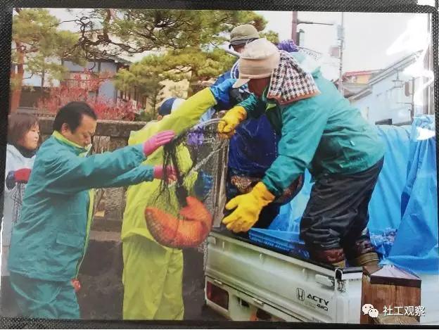 游客服务中心展示锦鲤过冬的图片