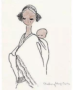 看了晚年的奥黛丽·赫本,才相信人间天使真的存在