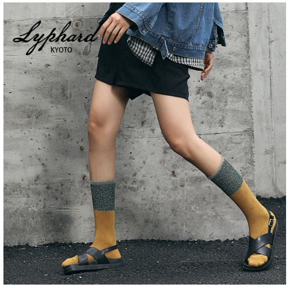 LYPHARD骊颿:你和时髦之间只差一双袜子