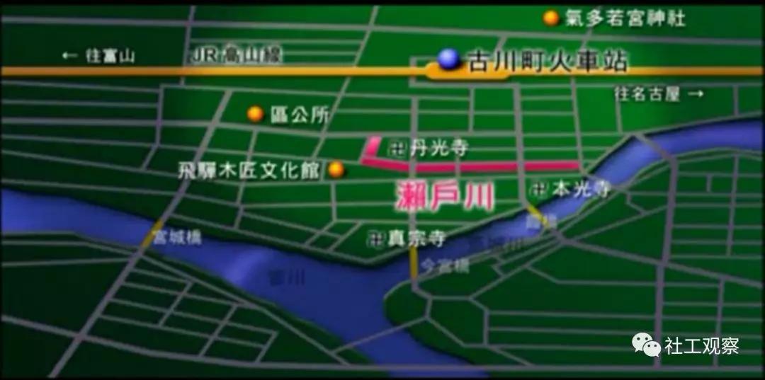 濑户川地图