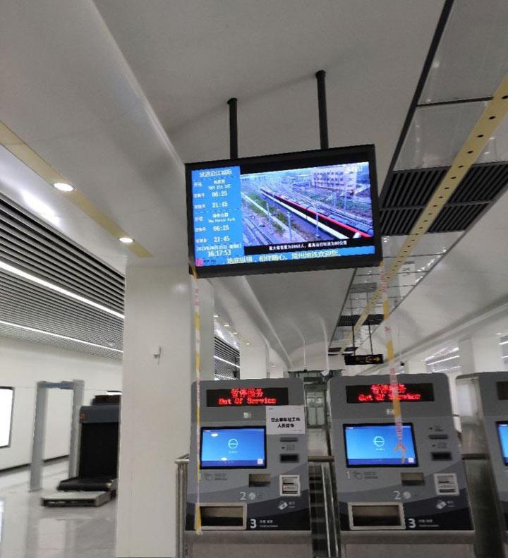常州地铁1号线站内曝光(组图),带你看看常州地铁内部长啥样!