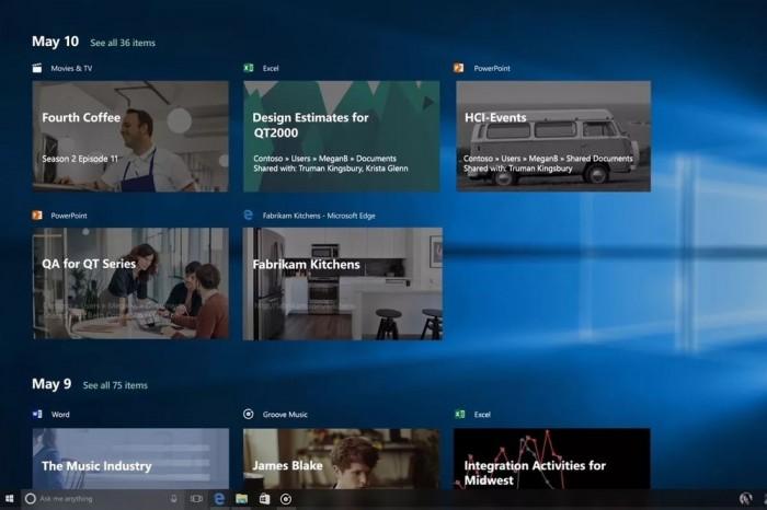 新Edge浏览器将支持Timeline功能的照片 - 1