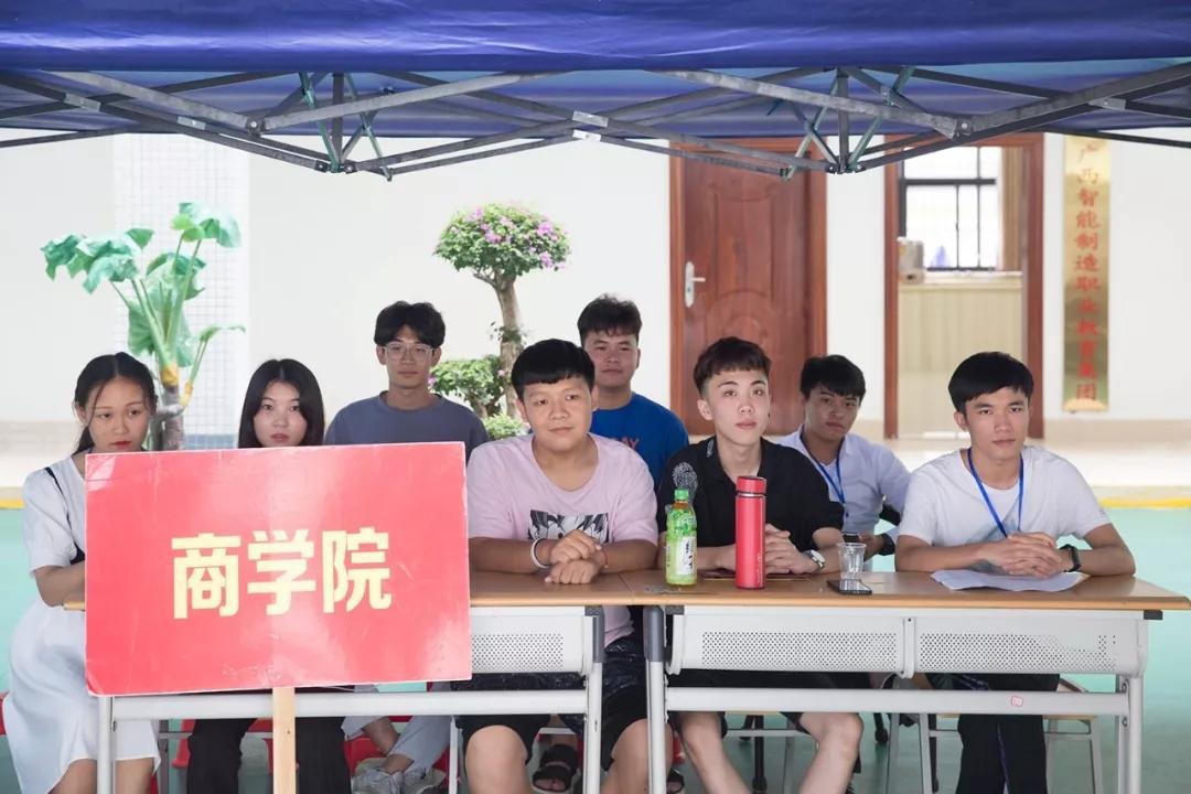 广西城市职业大学迎新季,一切准备就绪,城大欢迎!