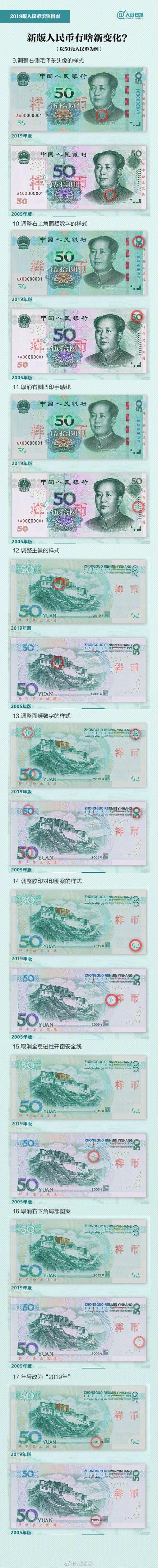 """新版人民币明天发行,自带""""美颜滤镜""""!的照片 - 5"""
