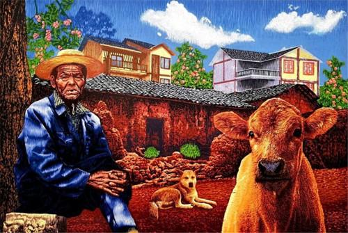 当代著名画家陈凯艺术的审美特质
