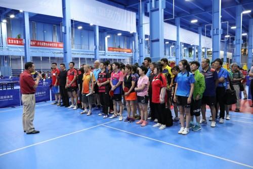 弘赫国际迎来北京市第十三届和谐杯乒乓球赛乒协组预赛