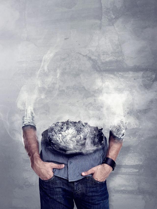 禁烟公益广告设计欣赏