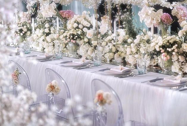 草坪婚礼,婚礼现场布置效果图