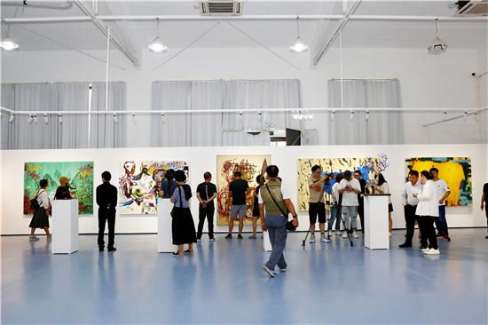 """""""跨越大洋・重塑未来――中拉国际艺术展""""在塑三文化创意园开幕"""