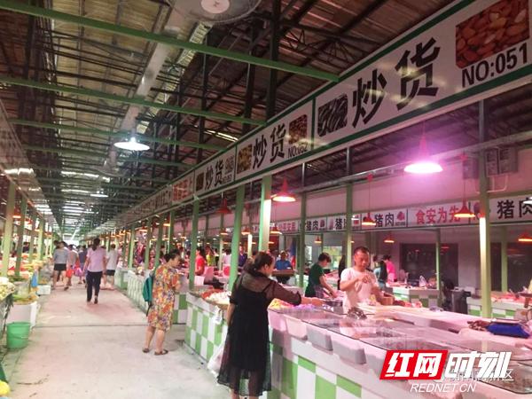 创卫进行时丨衡阳高新区三泰农贸市场旧貌换新颜