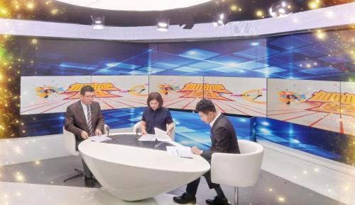 沃得生涯资深专家刘伟芹老师受邀参加中国教育电视台节目录制