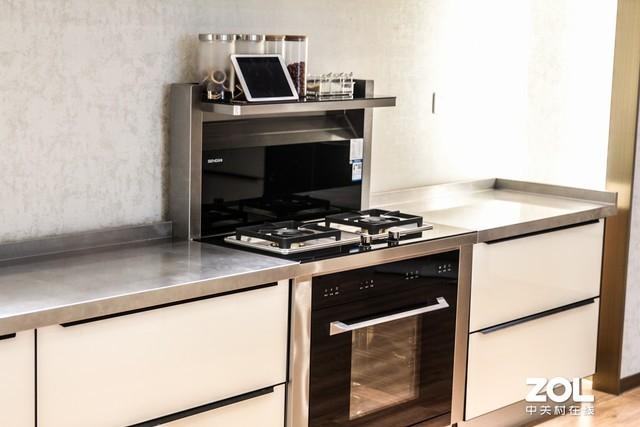 一体化设计烹饪更给力森歌T3B集成灶评测