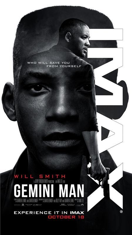 《双子杀手》曝新海报老少威尔·史密斯同框对决