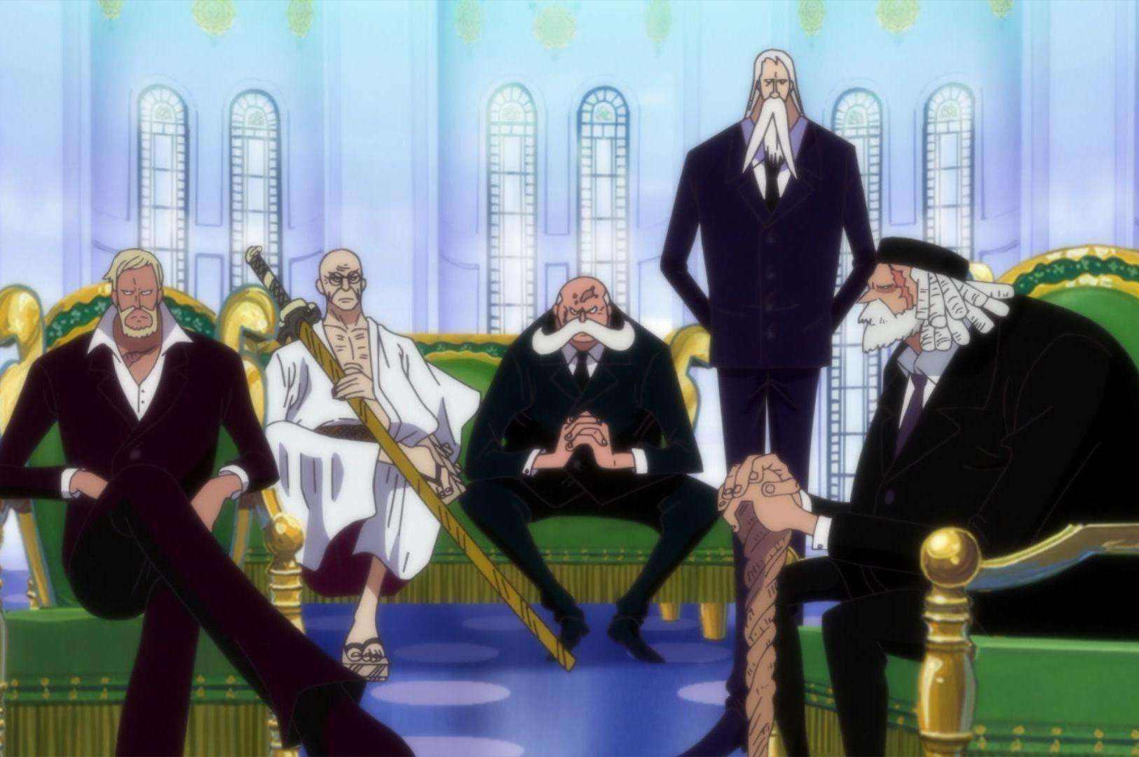 原创海贼王中,四皇和革命军联手能不能团灭海军政府和天龙人?