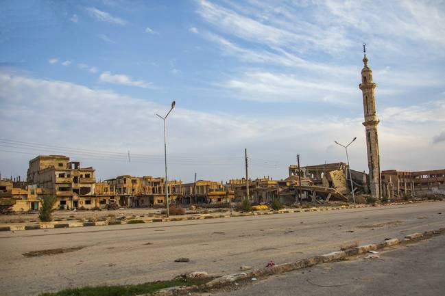 原创叙利亚人民能回家了,中国帮叙利亚重建家园,基建狂魔名不虚传!