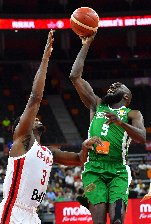 篮球——小组赛:加拿大队迎战塞内加尔队