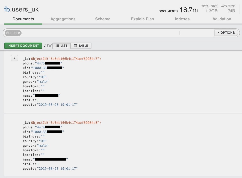 脸书证实4.19亿用户的电话信息被泄露,曝光数据库已删除