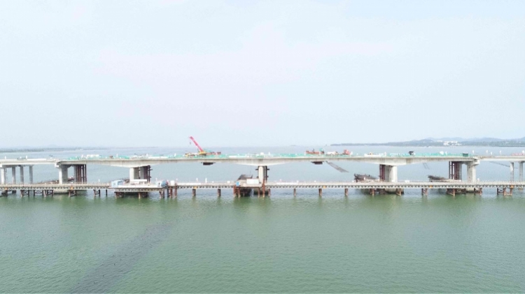 怀集至阳江高速公路海陵岛特大桥主桥合龙,预计2020年通车