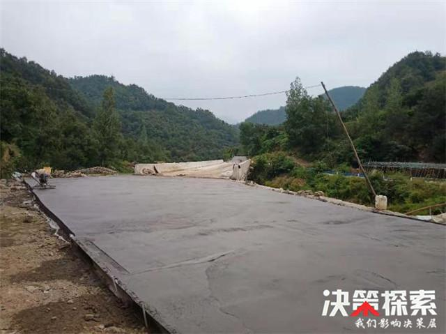 """西峡县石界河镇架起一座""""连心桥"""""""