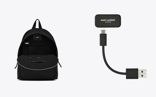 Google和YSL一起做了个795欧元的智能背包,看起来有点傻