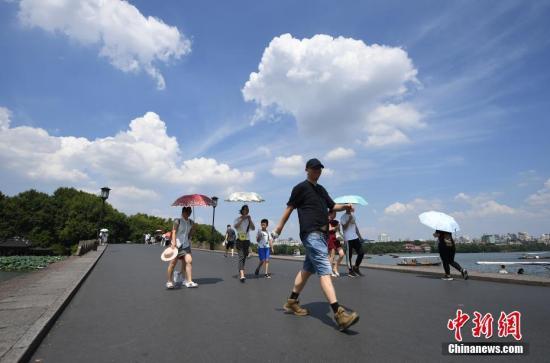 气象局:8月全国平均气温较常年同期偏高