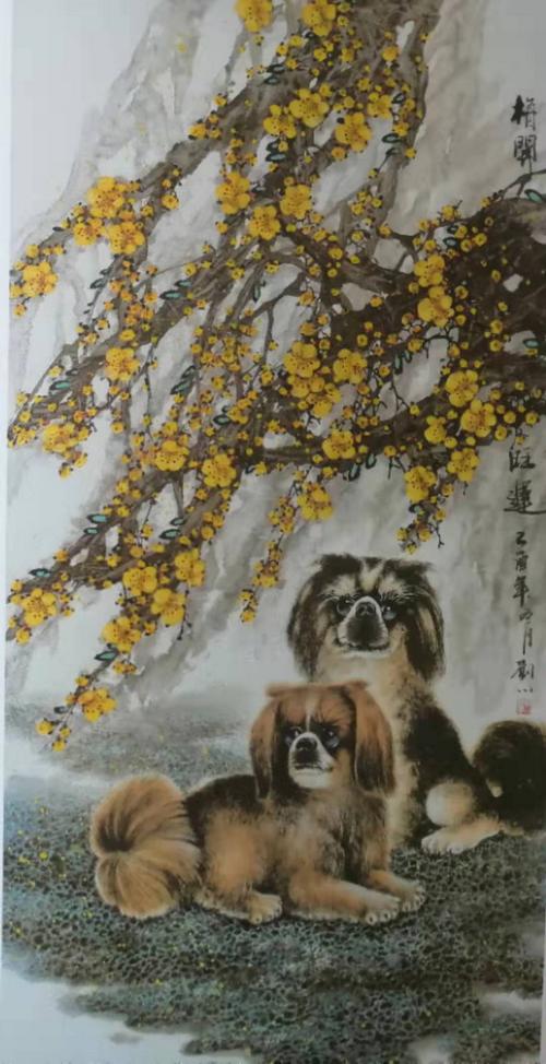 四季花鸟相伴 水墨画家刘川-中国传真