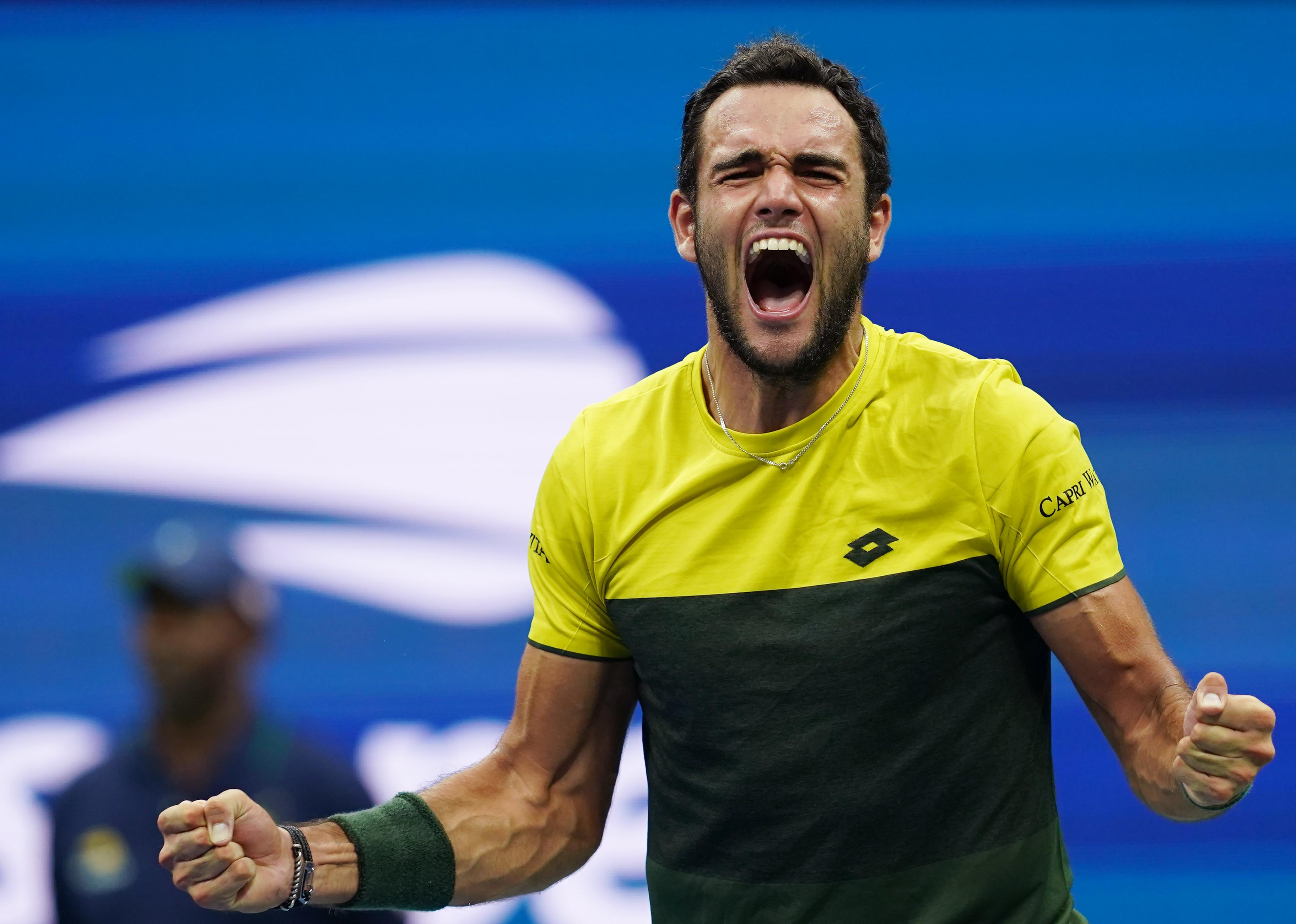 网球——美网:贝雷蒂尼晋级四强
