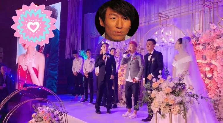 原创陈羽凡复出困难,染红发接婚礼商演,清唱《最美》无人捧场略尴尬