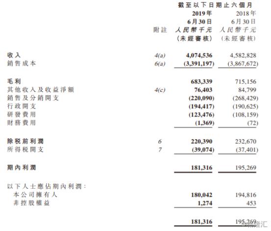 雅迪控股(01585.HK):电动车第一股中期业绩持续表现,行业洗牌带来重估机遇