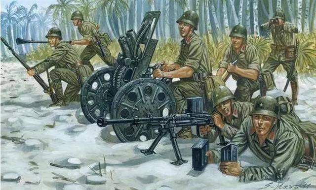 """原创步兵炮?炮架拆掉就跟重机枪差不多高!还是李云龙的""""宝贝疙瘩"""""""
