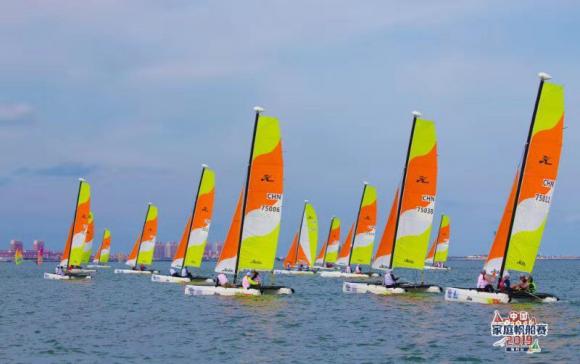 中国家庭帆船赛迎来首位副市级参赛领导 锦州帆船帆板将迎来大发展
