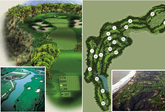 高尔夫18洞,畅打日本名门高尔夫球场!