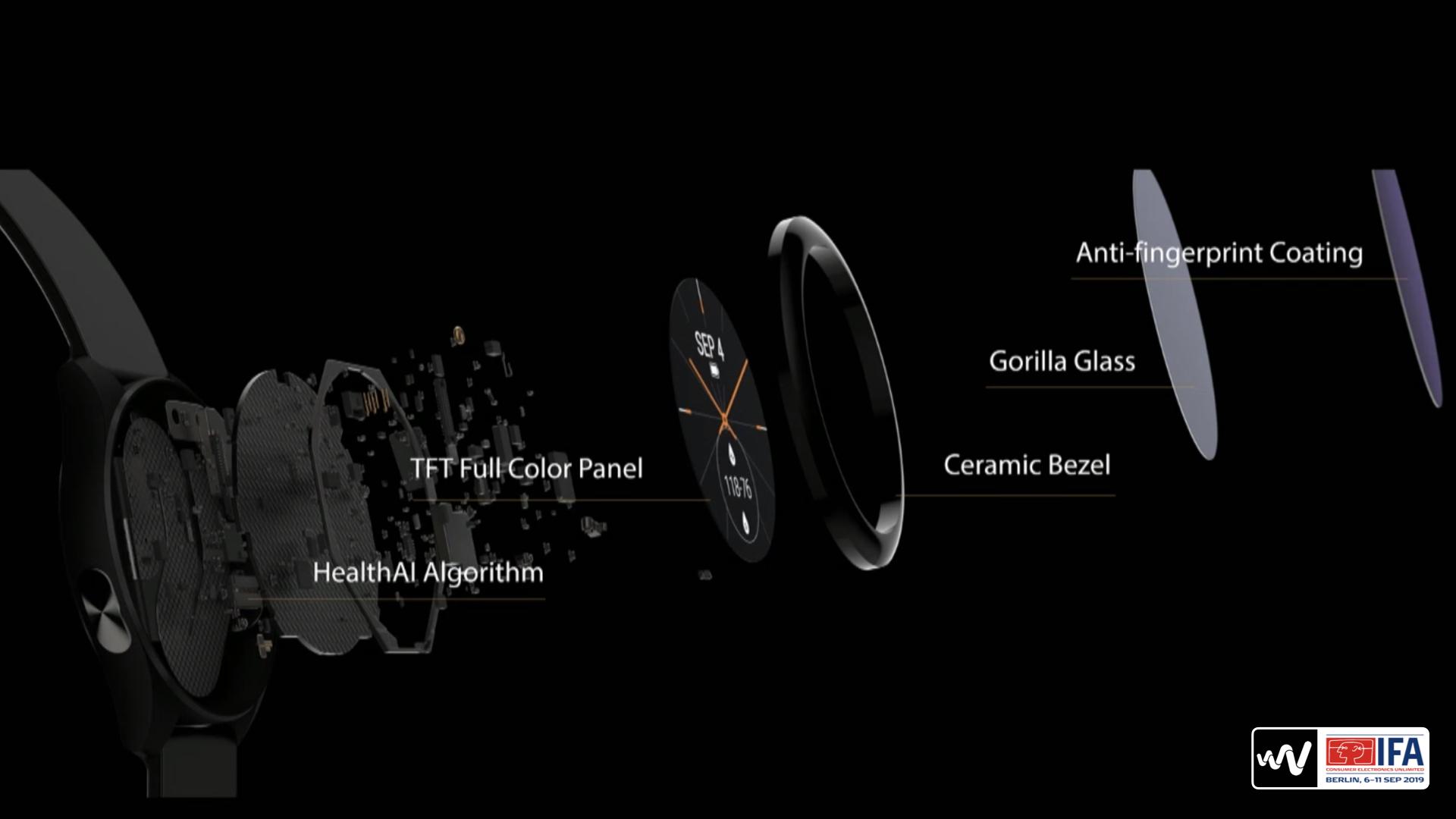 原创除了笔记本,华硕还推出了智能手表VivoWatchSP|IFA2019