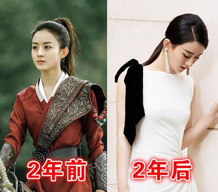 """""""楚乔传""""2年前VS后,宇文怀靠综艺圈粉,而她的电影将要播出"""