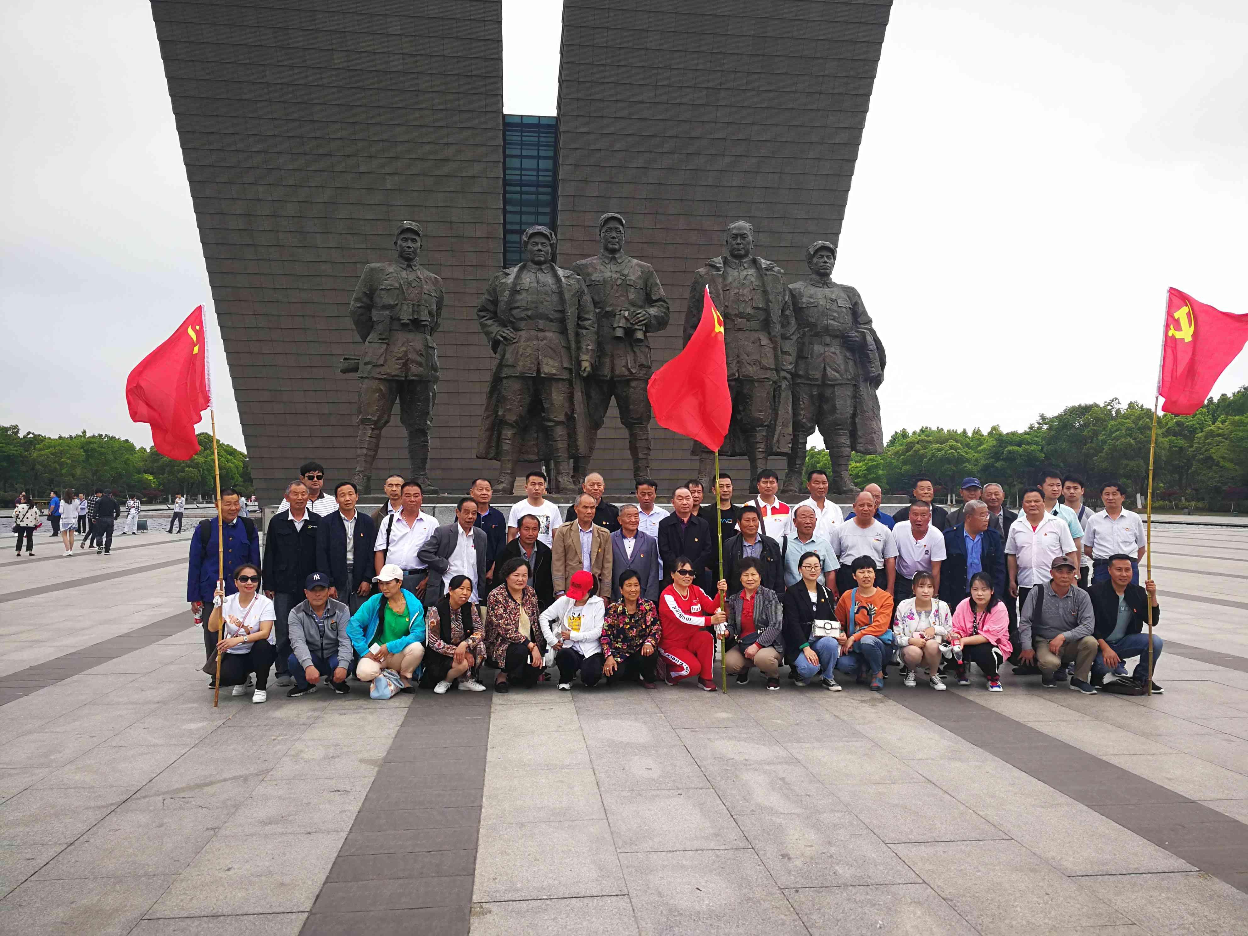 安徽推出7条重点红色旅游精品线路