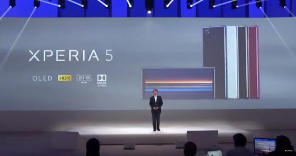 IFA2019:小屏党欢呼索尼发布Xperia5