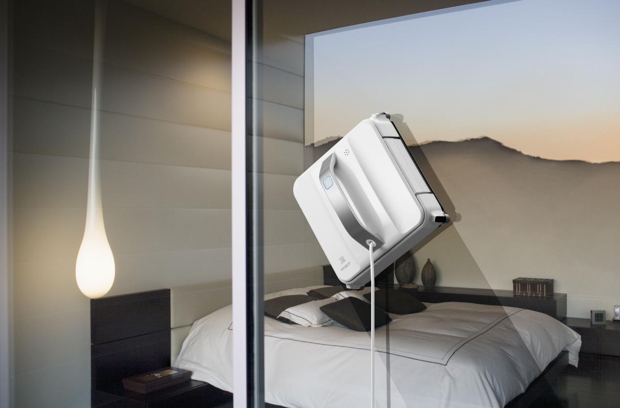 还在手工擦窗?快捷高效的擦窗机器人了解下,省时又省力