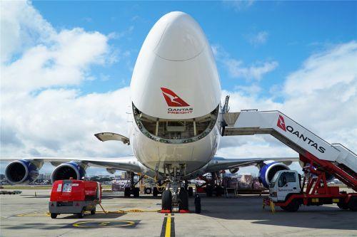 澳洲货运航空接收波音747-8F货机将投入中国市场运营