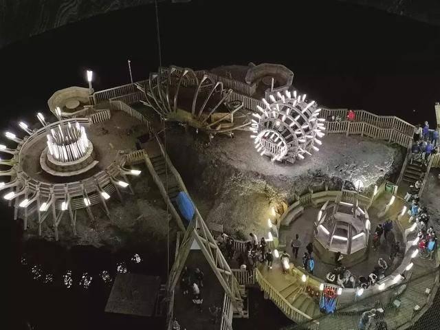 原创这座令人震撼的地下乐园,集博物馆、游乐场和疗养院于一体