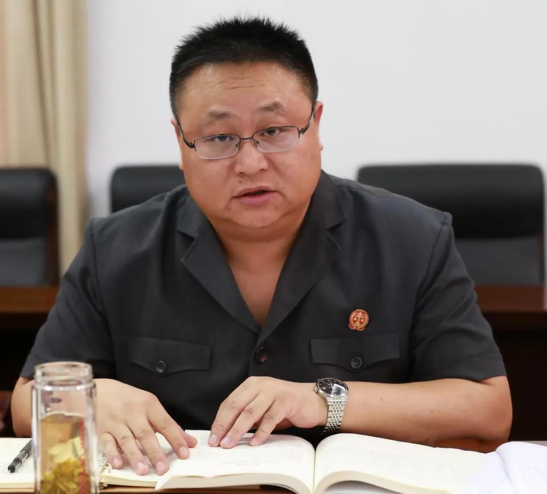 盐都法院召开2019年度第8次党组中心组学习会