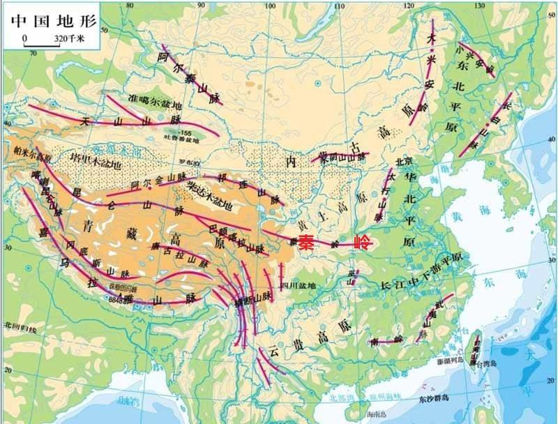 原创在我国众多的山脉中,秦岭为什么具有特殊地位?