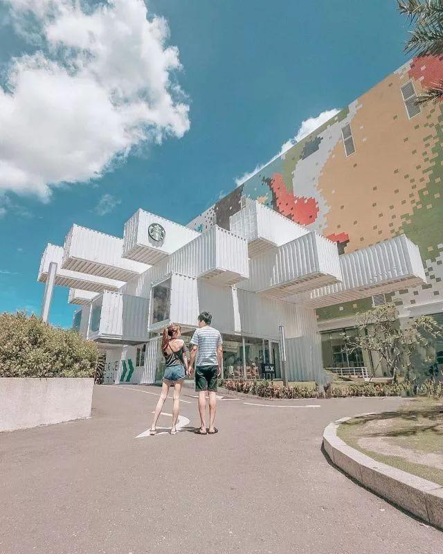 花莲吉安景点推荐:大磁砖壁画!新天堂乐园好玩好拍!