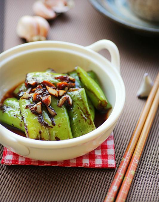 原创买辣椒挑到辣度适中的有窍门,用来做虎皮尖椒这一步做对才好吃