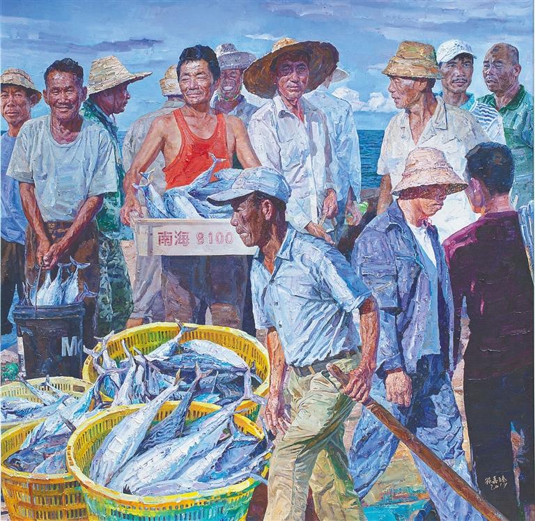 26位画家的20件美术作品入选第十三届全国美展海南美术创作靠积淀赢得突破